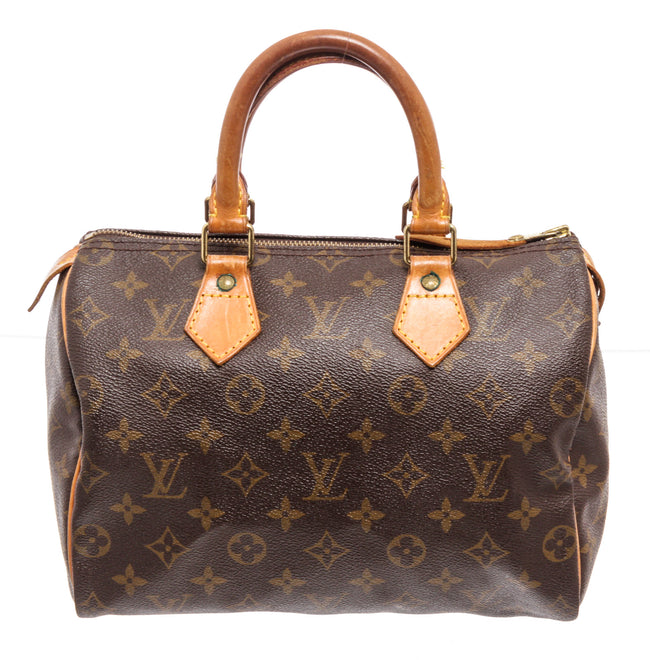 Louis Vuitton Brown Monogram Epi leather Speedy 25cm Satchel Bag