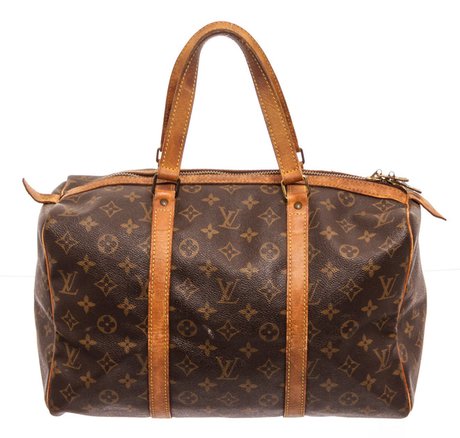 Louis Vuitton Brown Monogram Sac Souple 45cm Travel Bag