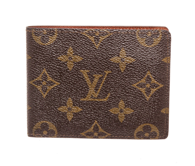Louis Vuitton Brown Monogram Bifold Wallet