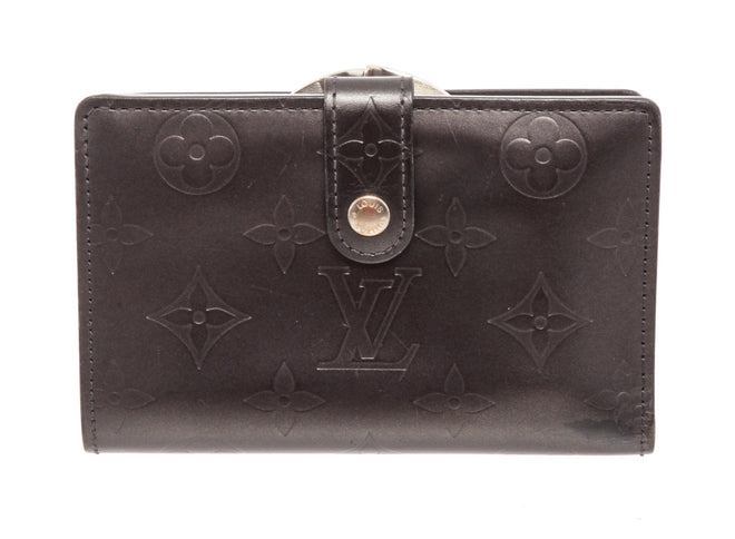 Louis Vuitton Gray Mat Monogram French Wallet