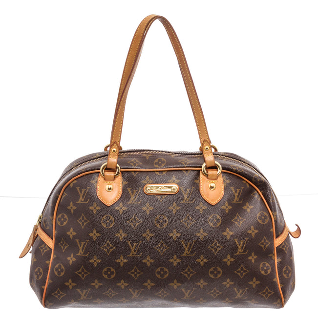 Louis Vuitton Brown Monogram Canvas Montorgueil GM Shoulder Bag