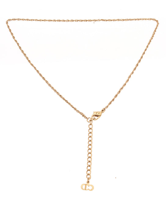 Christian Dior Gold Chain Necklace