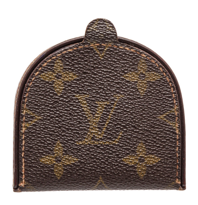 Louis Vuitton Brown Monogram Damier Ebene Coin Pouch Wallet