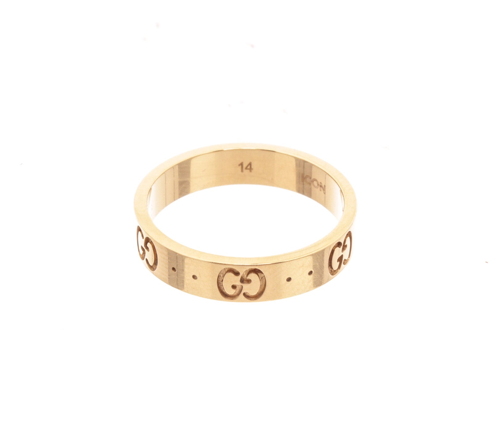 Gucci 14K Gold Ring
