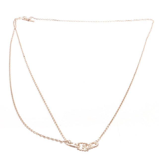 Hermes Silver Chain D Ancre Necklace