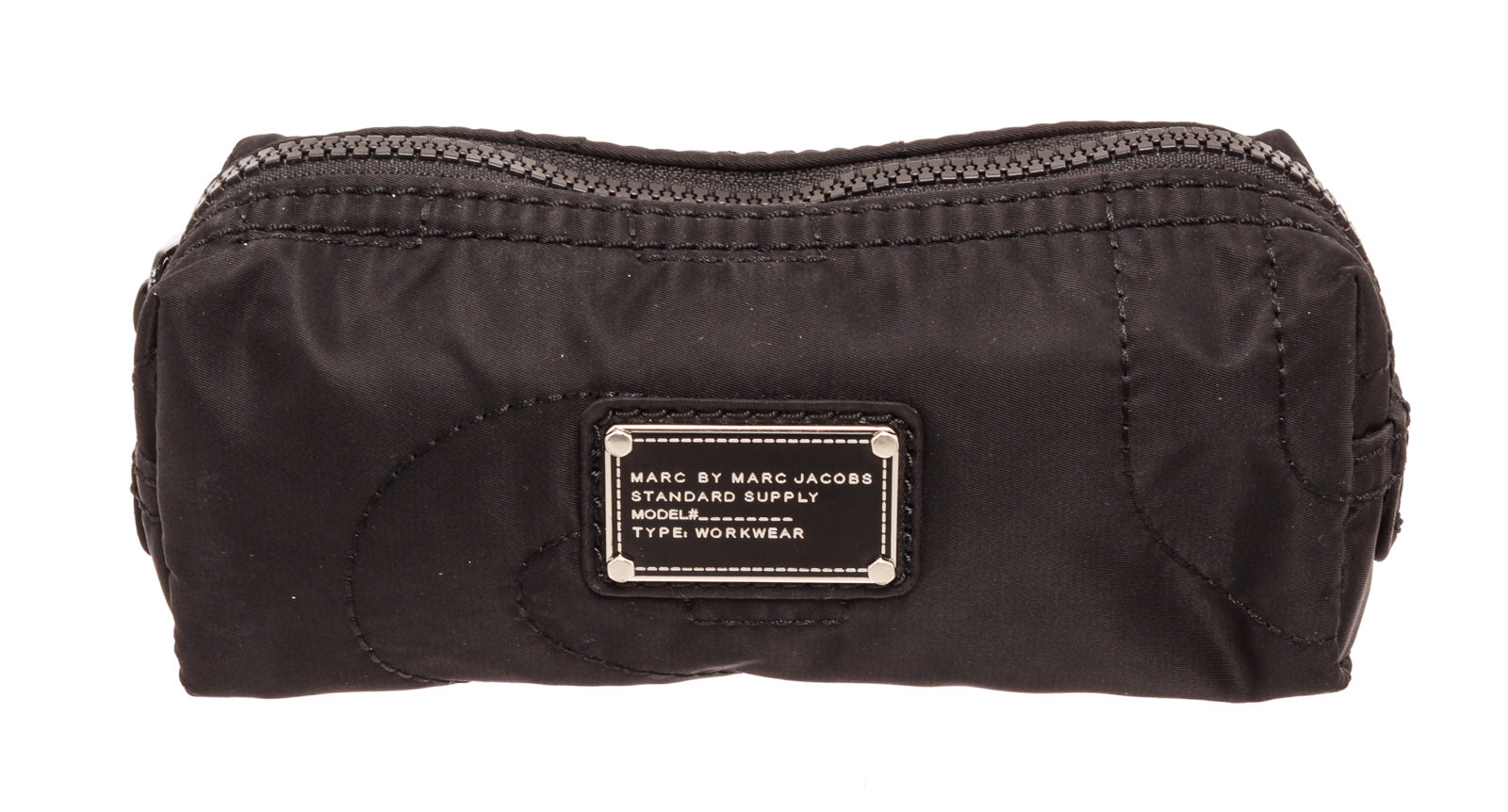 Marc By Marc Jacobs Black Nylon Cosmetic Pouch