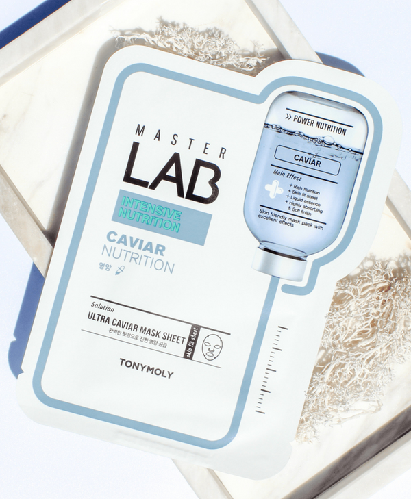 TONYMOLY Master Lab Real Mask Sheet - Caviar (Nutrition)