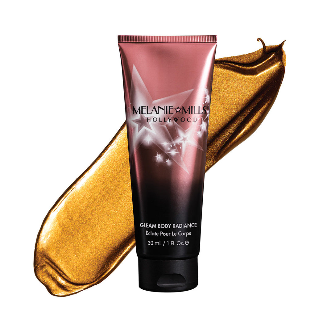Melanie Mills Hollywood Gleam Body Radiance All In One Makeup - Bronze