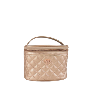 PURSEN NEW GETAWAY JEWELRY CASE - COPPER QUILTED