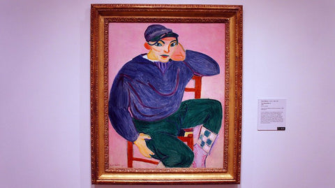 the young sailor by henri matisse
