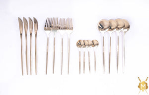 Champagne cutlery set