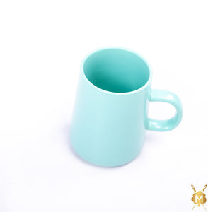 Ceramic Cyan Blue Coffee Mug