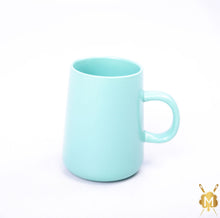 Load image into Gallery viewer, Ceramic Cyan Blue Coffee Mug