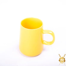 Load image into Gallery viewer, Ceramic Yellow Coffee Mug