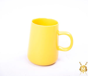 Ceramic Yellow Coffee Mug