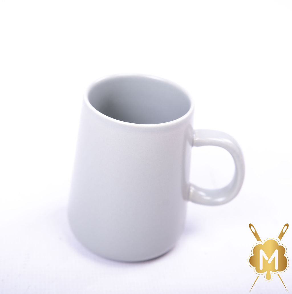 Ceramic Light Grey Coffee Mug