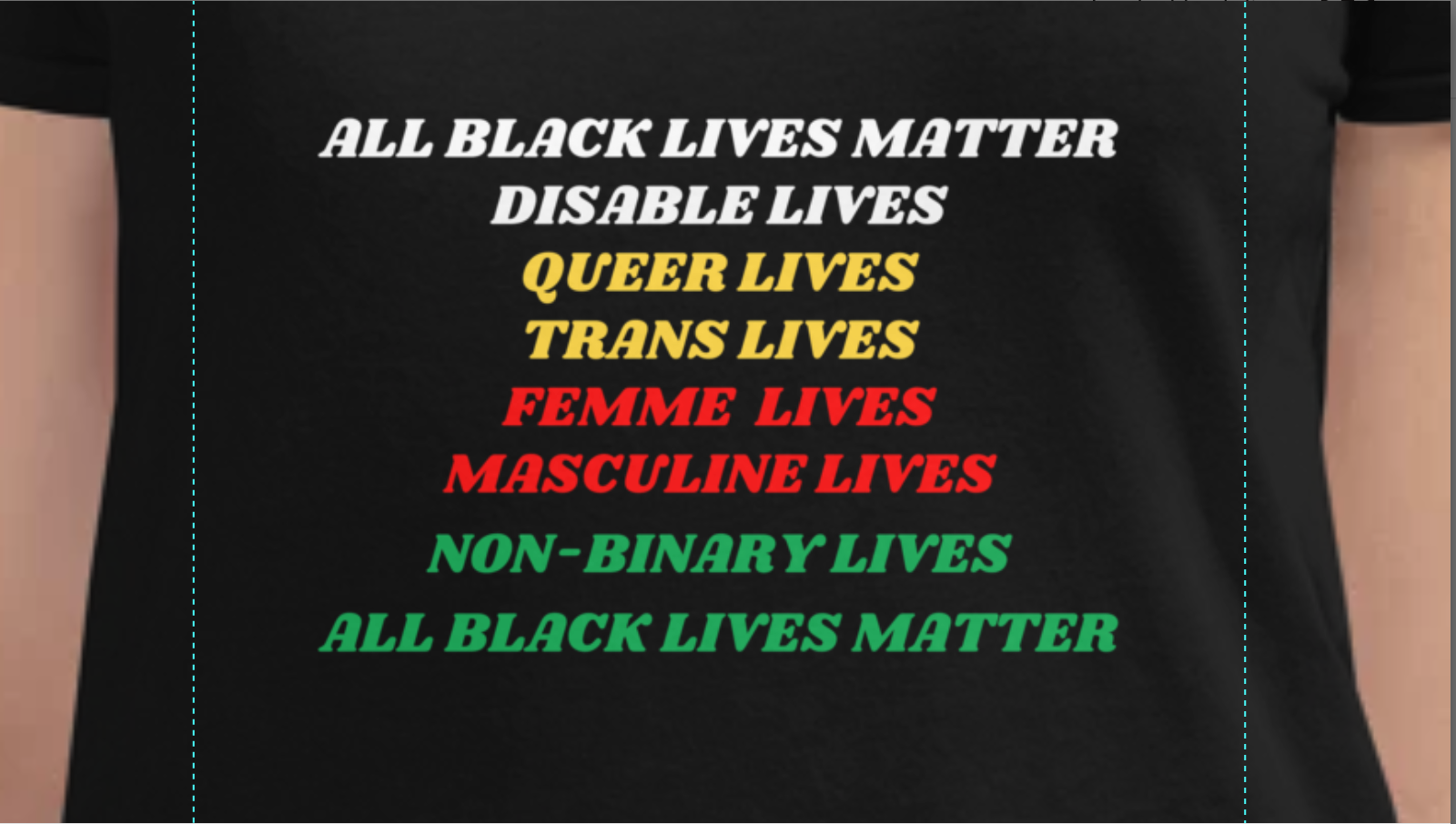 All Black Lives Matter T-Shirt