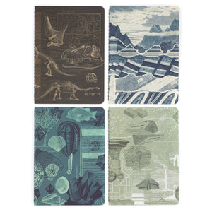 Earth Science Pocket Notebook 4-pack