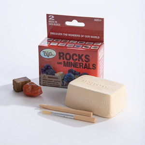 Mini Excavation Kit: Rock & Minerals