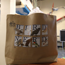 Load image into Gallery viewer, Bird Nerd North Museum Tote Bag