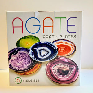 Agate Party Plates