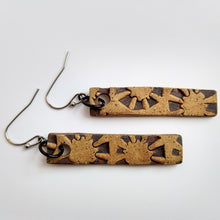 Load image into Gallery viewer, Stamped Ceramic Earrings
