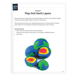 STEM Learning Activity Pack - Geology (Pre-K)