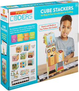 Future Coders Cube Stackers Coding Kit