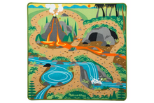Load image into Gallery viewer, Melissa & Doug Prehistoric Playground Dinosaur Activity Rug
