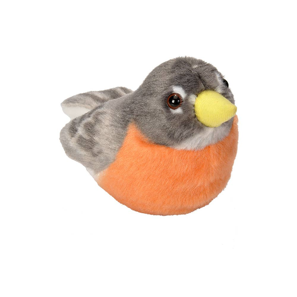 Audubon II American Robin Stuffed Animal with sound - 5