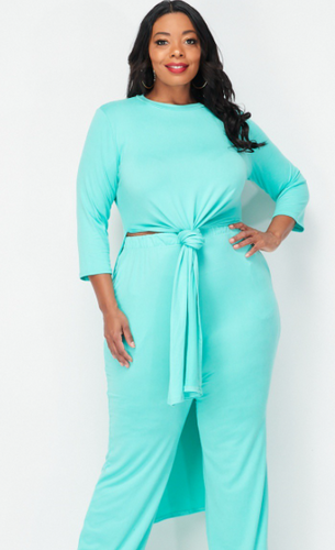 Boss Lady Plus Size Set