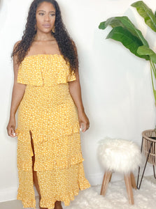 Hey Sunshine Maxi Dress