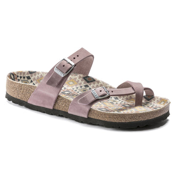 BIRKENSTOCK MAYARI OILED LEATHER LAVENDER BLUSH 1019367