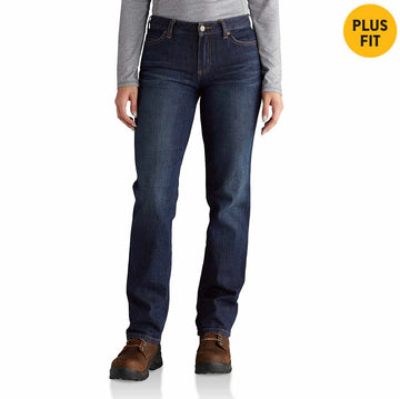 CARHARTT WOMEN'S RUGGED FLEX ORIGINAL-FIT STRAIGHT LEG BLAINE JEAN 102731