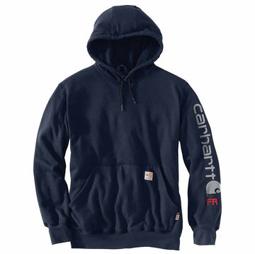 CARHARTT FORCE FLAME RESISTANT RELAXED FIT MIDWEIGHT HOODED GRAPHIC SWEATSHIRT 104505