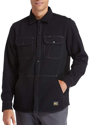 TIMBERLAND PRO MILL RIVER FLEECE SHIRT JACKET A1VCQ