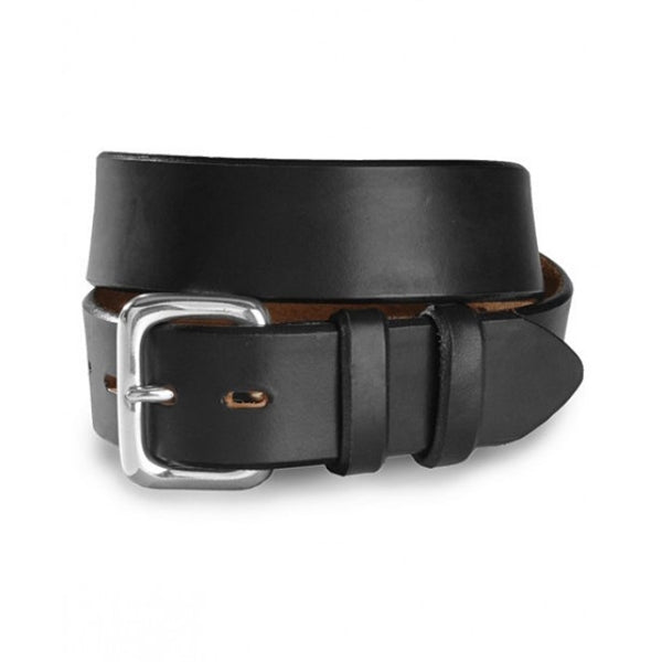 BRIGHTON BEVELED CITY GEAR BELT BLACK 5213B