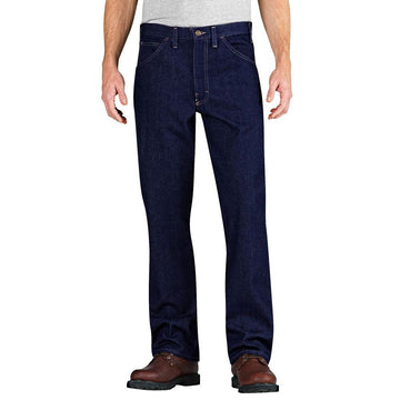 DICKIES FLAME-RESISTANT RELAXED FIT STRAIGHT LEG 5 POCKET JEAN RD901RNB