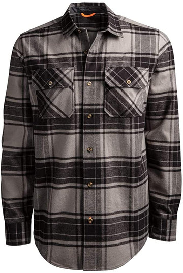 TIMBERLAND PRO WOODFORT HEAVYWEIGHT FLANNEL WORK SHIRT A1V4K