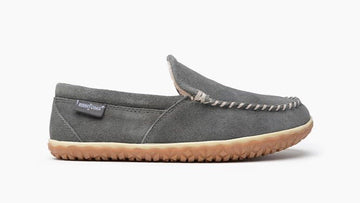 MINNETONKA TILDEN MOCCASIN GREY 41005