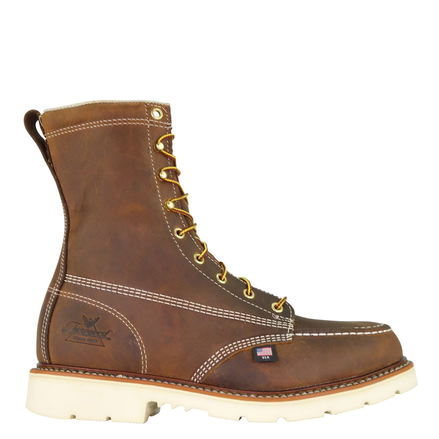 Copy of 804-4378 AMERICAN HERITAGE – 8″ TRAIL CRAZYHORSE SAFETY TOE – MOC TOE MAXWEAR90™