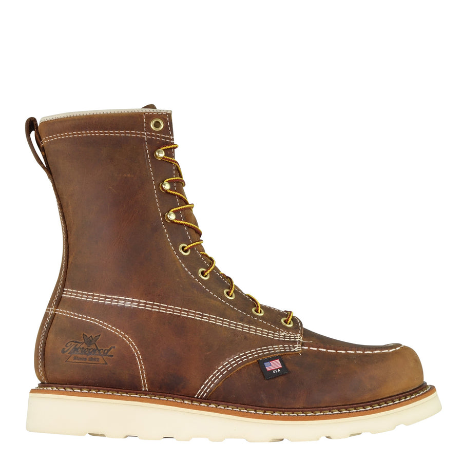 804-4478 AMERICAN HERITAGE – 8″ TRAIL CRAZYHORSE SAFETY TOE – MOC TOE MAXWEAR WEDGE™
