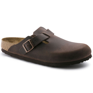 BIRKENSTOCK BOSTON OLIED NUBUCK LEATHER HABANA 860131