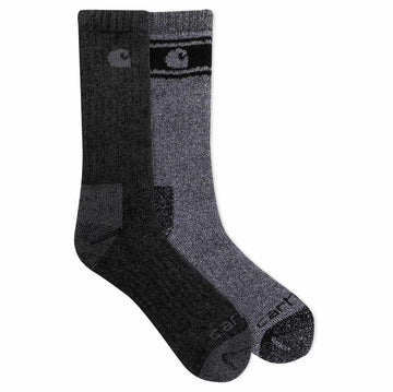 CARHARTT WOOL BLEND CREW SOCK 4 PACK A0105