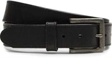 JUSTIN SYCAMORE CINCH BELT BLACK C00123
