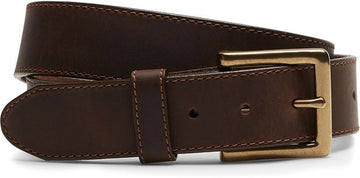 JUSTIN SYCAMORE CINCH BELT BROWN C00125