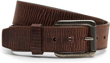 JUSTIN BOMBER BELT BROWN C11745