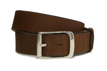 TONY LAMA BILLY BOB BELT-AGED BROWN C41319