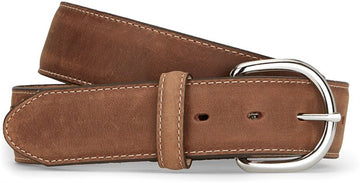 JUSTIN CLASSIC WESTERN BELT BROWN 53709