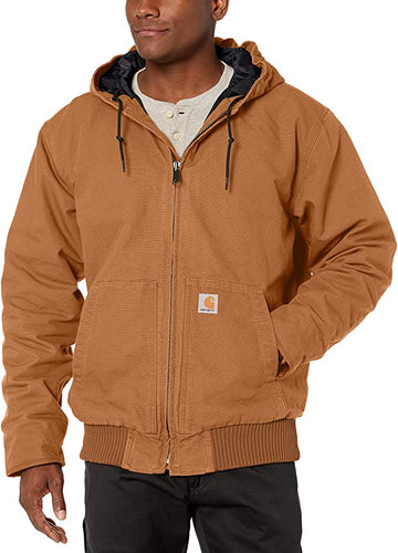CARHARTT WASHED DUCK INSULATED ACTIVE JAC J130